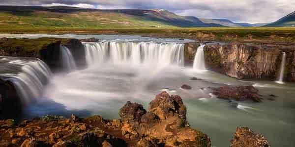 Godafoss Waterfall, Akureyri