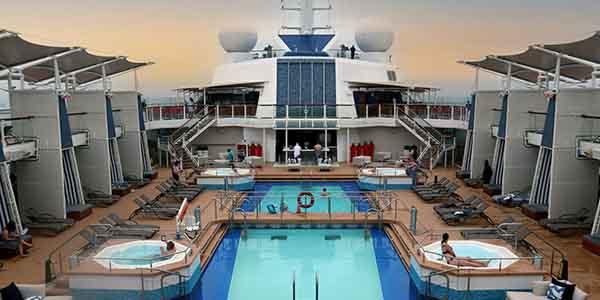 Pool Area on Celebrity Silhouette