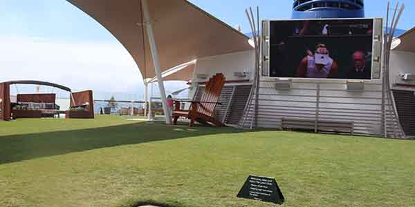 The Lawn Grill on Celebrity Silhouette